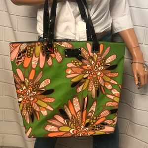 Kate Spade Floral summer style tote bag